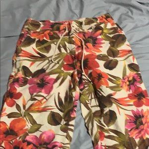 Chico's Wide leg crop pants
